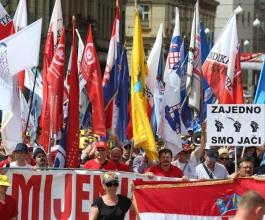 Koordinacija 11 sindikata najavila blokadu Hrvatske za 5. lipnja [VIDEO]