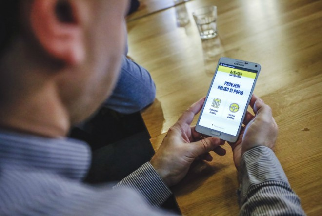 Hrvatska mobilna aplikacija za odgovorno konzumiranje alkohola – RAZMISLI