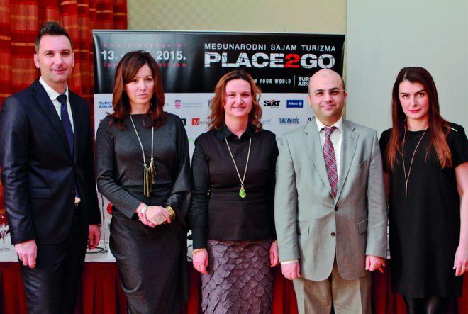 Međunarodni sajam turizma Place2go, 13. – 15. 3. 2014.
