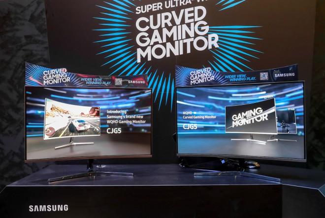 Samsung na Gamescomu 2018 predstavio CJG5 – zakrivljeni monitor za istinske gamere