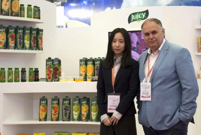 Juicy predstavio Hrvatsku na prehrambenom sajmu SIAL u Kini