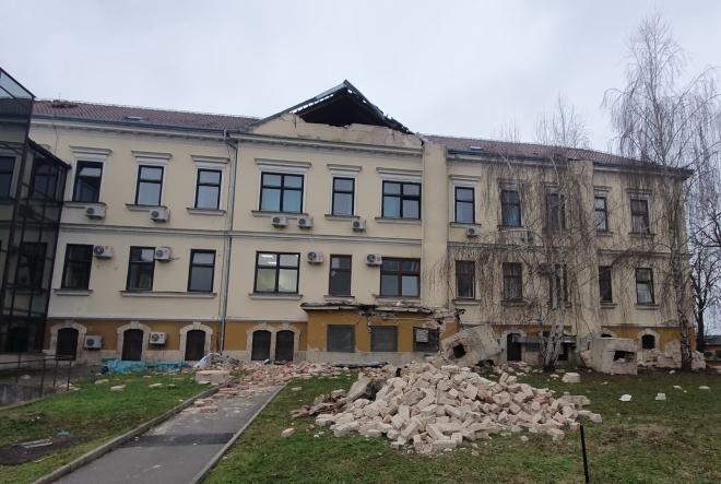 Sisačka bolnica potres