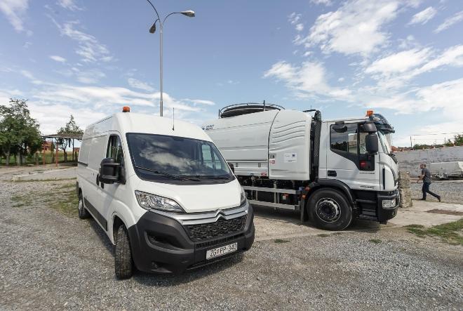 Tvrtka Vode Lipik d.o.o preuzela specijalizirana vozila za potrebe realizacije projekta aglomeracije Lipik-Pakrac