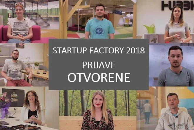 Otvorene su prijave za Startup Factory  predakceleracijski program