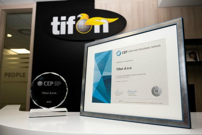 Tifon dobio priznanje za izvrsno upravljanje ljudskim resursima
