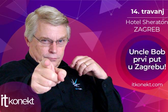 Uncle Bob prvi put u Zagrebu!