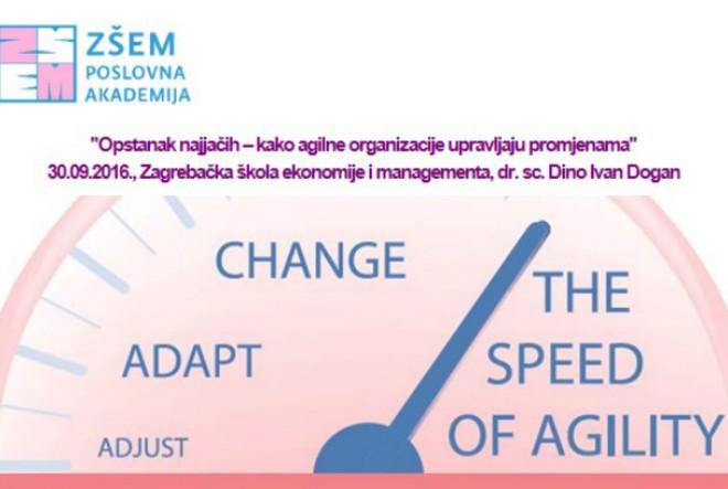Opstanak najjačih – kako agilne organizacije upravljaju promjenama