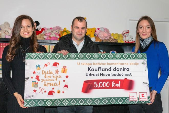Kaufland udrugama diljem Hrvatske donirao ukupno 195.000 kuna