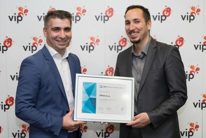 Vipnet jedanaestu godinu zaredom nagrađen Certifikatom Poslodavac Partner