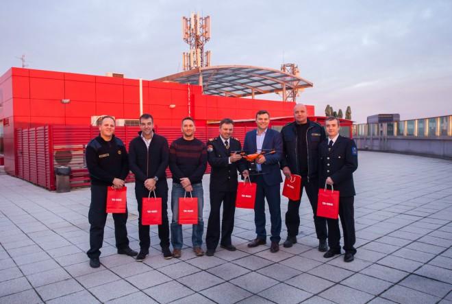 Odabrana vatrogasna društva kojima se doniraju dronovi