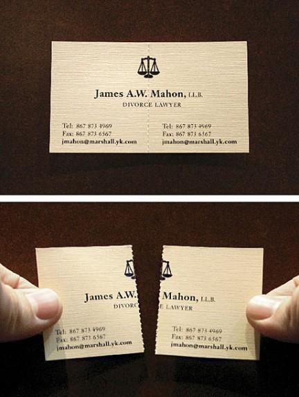 Vizitka odvjetnik