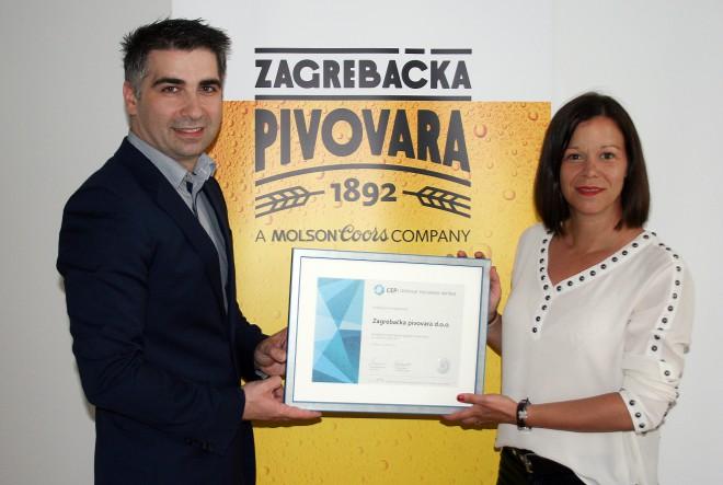 Zagrebačka pivovara proglašena Top Poslodavcem