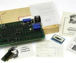 Prvi Appleov vojnik – Apple I prodan na aukciji za 210.000 dolara