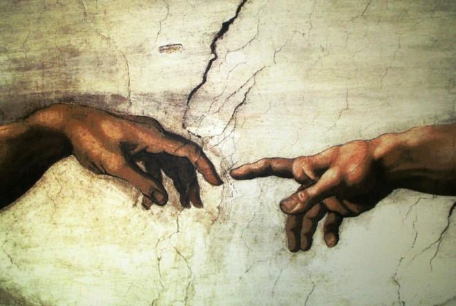 Radite kao što je Michelangelo slikao