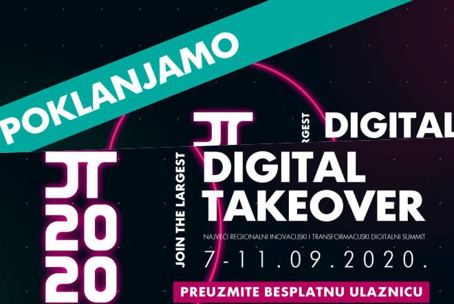 Osigurajte si besplatnu ulaznicu za najveći digitalni događaj u 2020.