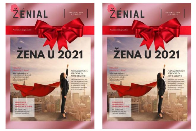 Stigao prvi primjerak jedinog hrvatskog poslovnog časopisa za žene – ŽÉNIAL