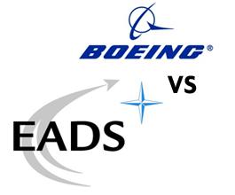 Utrka Boeinga i EADS-a za 35 milijardi dolara vrijedan posao
