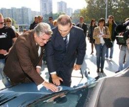 U Labinu predstavljen prvi fiksni punjač za elektromobile u Hrvatskoj