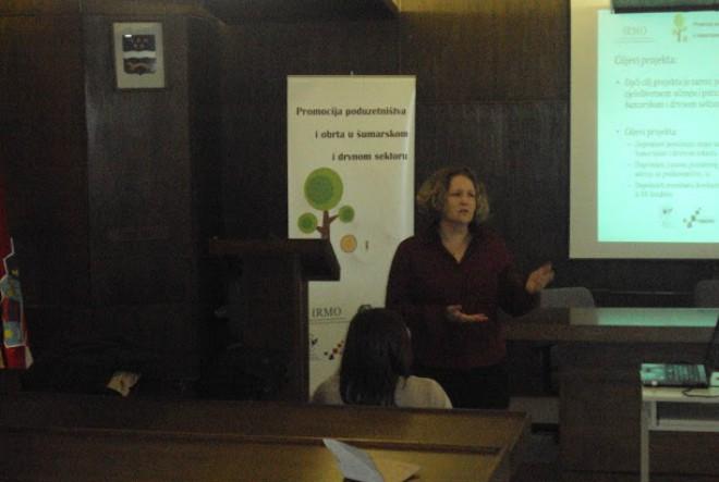 Započela serija kampanja za promociju poduzetništva i obrta u šumarskom i drvnom sektoru