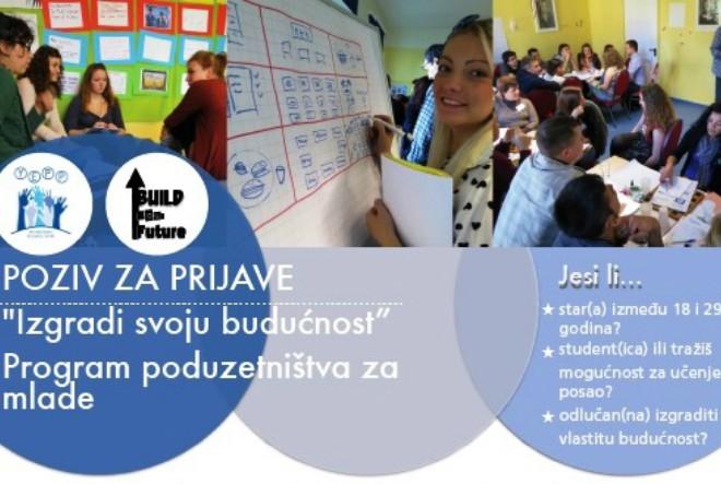 """Besplatan program poduzetništva za mlade """"Izgradi svoju budućnost"""""""