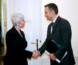 Sastali se Jadranka Kosor i bugarski ministar vanjskih poslova Nikolaj Mladenov
