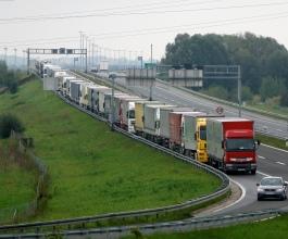 Zbog štrajka u Sloveniji prijevoznici gube znatan dio prihoda