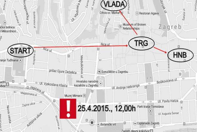 Udruga Franak: Na prosvjed dolazi više od 60 punih autobusa iz cijele Hrvatske