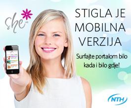 NOVOST! She.hr mobilni portal