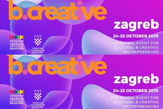 Kreativci i kulturnjaci u mreži b.creative konferencije u Zagrebu 24.i 25.10.