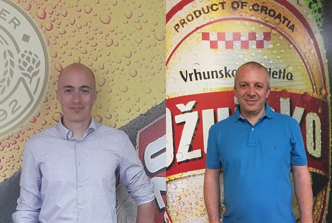 Nova imenovanja u odjelu proizvodnih i logističkih operacija Zagrebačke pivovare