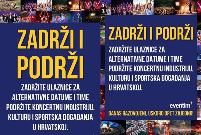 Zadržite ulaznice i podržite budućnost hrvatskih događaja