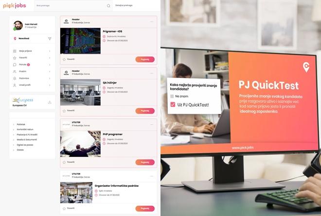 PickJobs – kombinacija društvene mreže i oglasnika za posao
