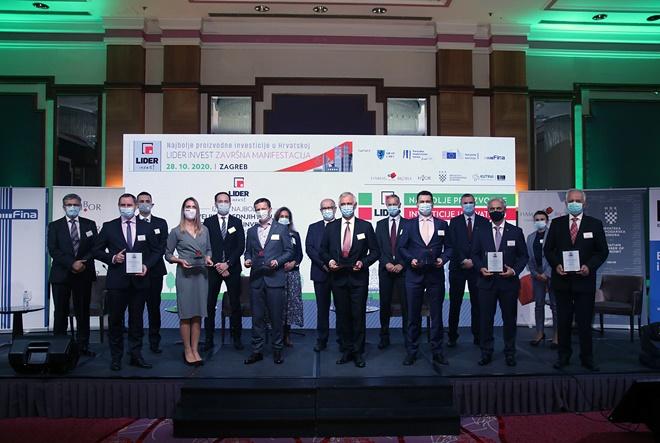 Lider invest 2020.: Proglašene najbolje proizvodne investicije u Hrvatskoj