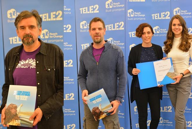 Tele2 i Zaklade Reach for Change – Budi promjena odabrali pobjedničke projekte: Suncokret, Omolab i Pričaj mi