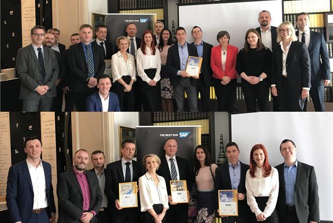 Tvrtke KING ICT i Altima najuspješniji SAP-ovi partneri u Hrvatskoj u 2018. godini