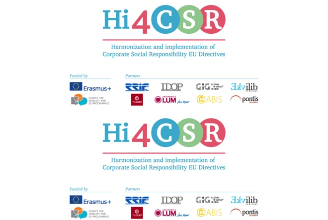 Hi4CSR blog: Erasmus+ on-line platforma koja okuplja važne i korisne informacije vezane za EU direktive u području DOP-a