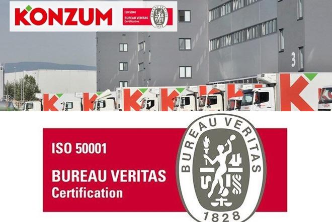 Konzum nositelj sustava upravljanja energijom prema ISO 50001 normi