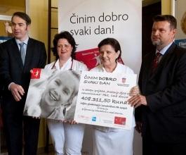 PBZ Card donirao 408 tisuća kuna Općoj bolnici Gospić [VIDEO]