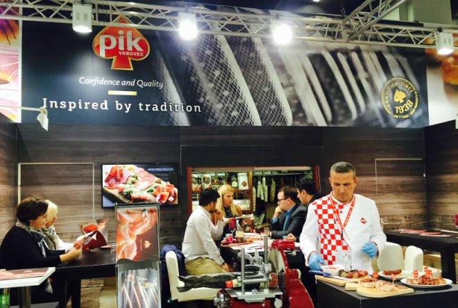 PIK Vrbovec dio 33. Međunarodnog sajma prehrambene industrije Anuga 2015.