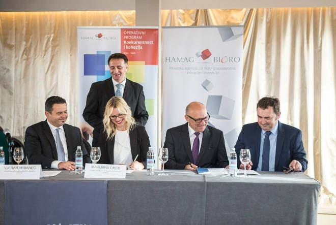 Potpisan Sporazum o suradnji za provedbu financijskog instrumenta Ograničeno portfeljno jamstvo iz ESI fondova
