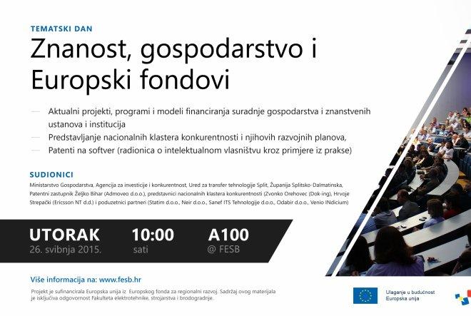Znanost, gospodarstvo i EU fondovi