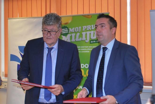 KBC Zagreb i Hrvatska Lutrija potpisali Sporazum o partnerskoj suradnji