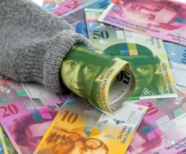 Mjere švicarske središnje banke spustile franak s rekordnih razina