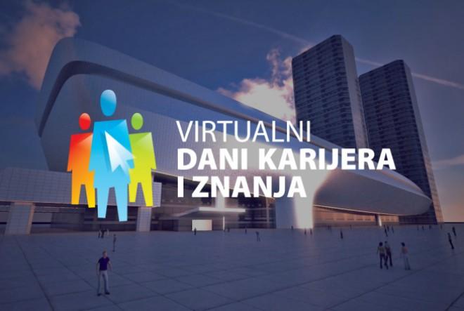 Live stream na Virtualnom sajmu karijera i znanja: Dinamično predstavljanje poslodavaca
