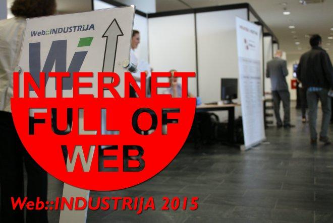 Web::INDUSTRIJA 2015: Dva dana edukacije, druženja i zabave