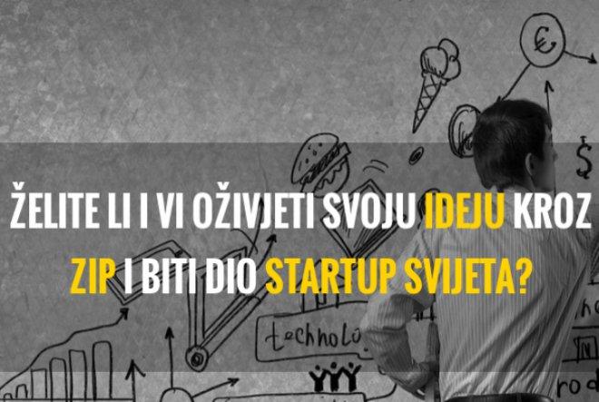 Otvorene prijave u novi ZIP startup program